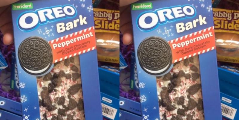 Peppermint Oreo Bark Is Hitting Stores Just In Time For The Holidays