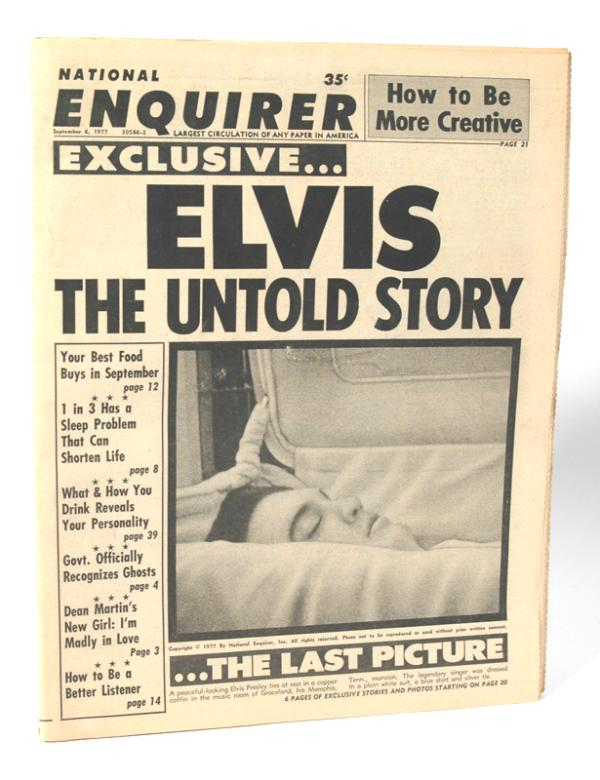 The National Enquirer has a backstory worthy of the National Enquirer