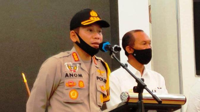 Kapolrestabes Palembang Kombes Pol Anom Setyadji (Liputan6.com / Nefri Inge)