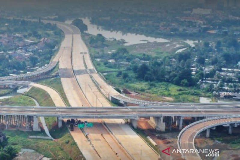 Capai 84,91 persen, PUPR targetkan Tol Serpong-Cinere rampung 2021