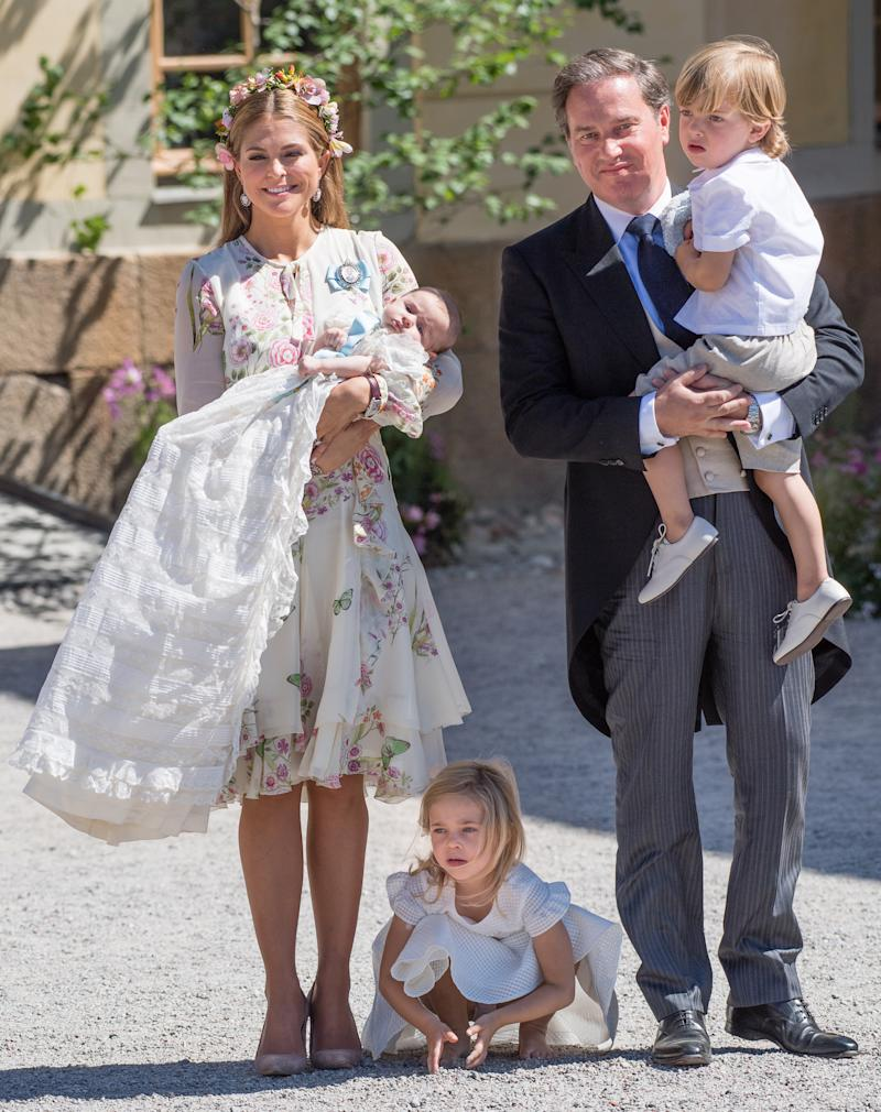 Princess Madeleine and her American husband, Christopher O'Neill, said the changes will give their children 'a greater opportunity to shape their own lives'. Photo: Getty