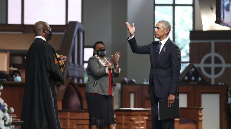 Pada pemakaman Lewis, Obama serukan UU Hak Pilih diperbarui