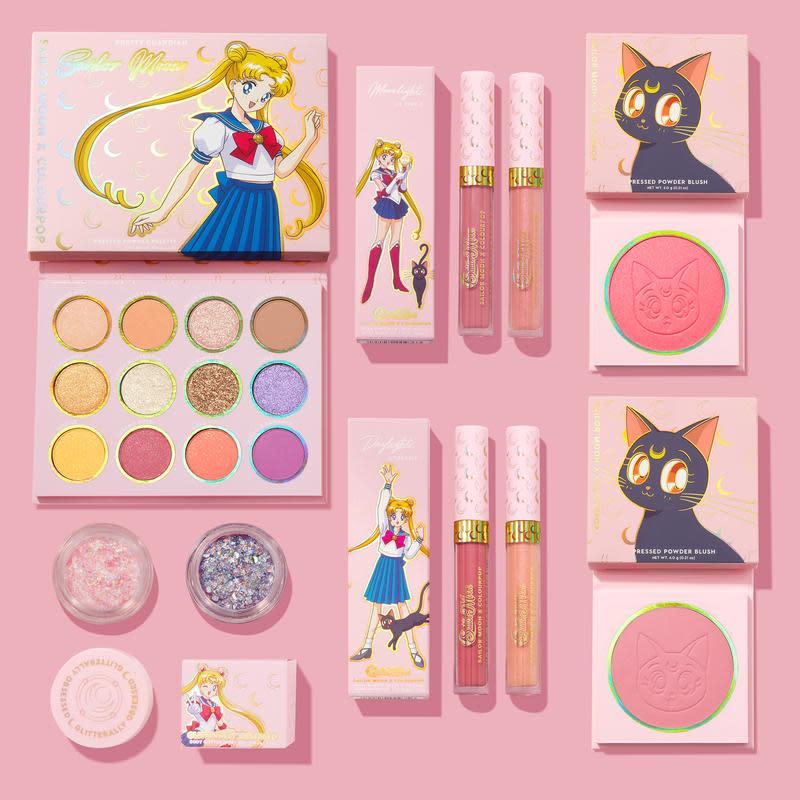 Sailor Moon x ColourPop Collection Set