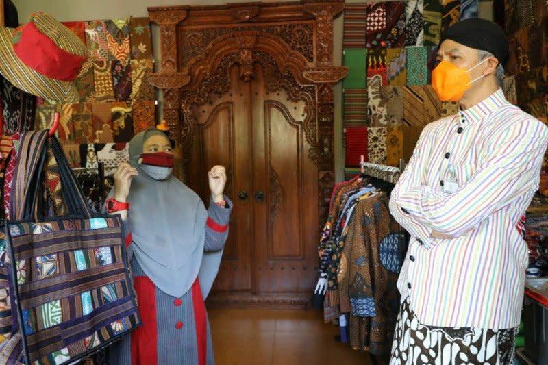 Ikut Program Lapak Ganjar, omzet UMKM batik Salatiga naik pesat
