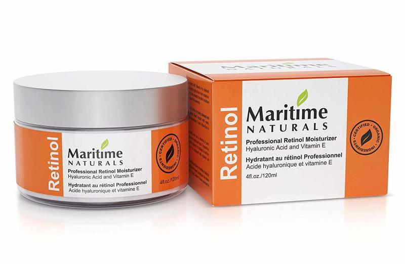 Martime Naturals Retinol Moisturizer. Image via Amazon.