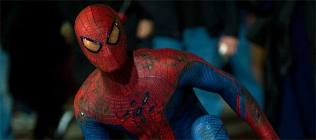 Exclusive: 'The Amazing Spider-Man' stars reveal their reactions to Spidey's costume