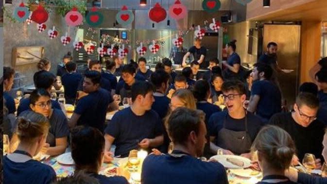 Dampak Pandemi, Restoran Terbaik di Dunia Hanya Jual Burger. (dok.Instagram @nomacph/https://www.instagram.com/p/B6TH6FPJ0_X/Henry)