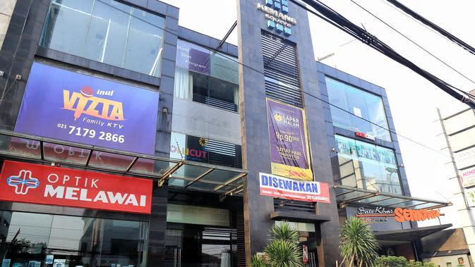 Kawasan Kemang yang penuh dengan restoran dan tempat hiburan. (Adrian Putra/Bintang.com)