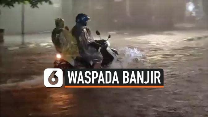 VIDEO: Hujan Deras dan Drainase Buruk, Kawasan Palmerah Terendam
