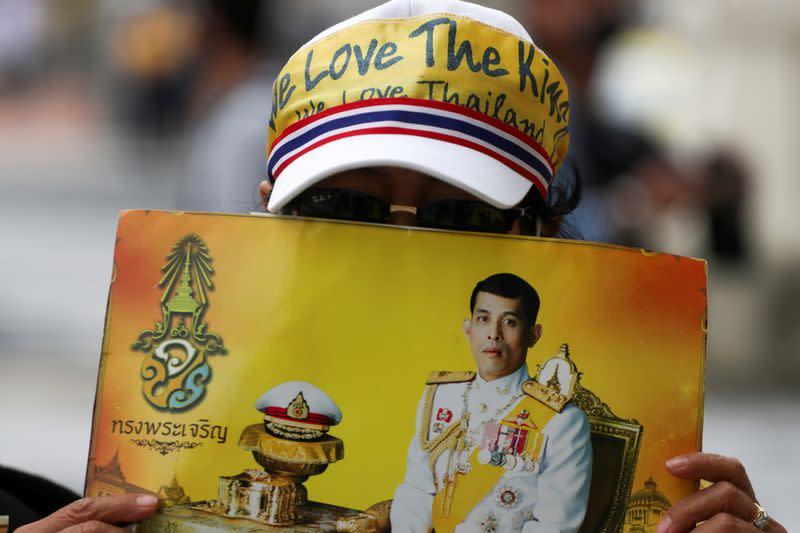 Thai king says people should love country and monarchy