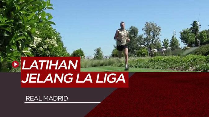 VIDEO: Melihat Lebih Dekat Suasana Latihan Real Madrid Jelang Kembalinya La Liga