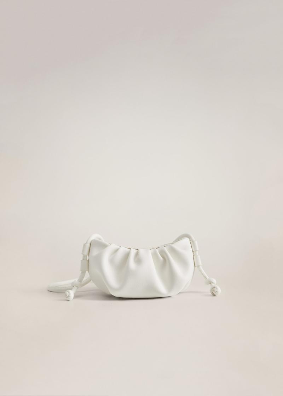 Pleated volume mini bag
