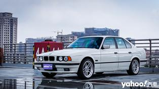 老車玩家的折衷之選!BMW E34 × 南亞冰酷隔熱紙A9系列N70開箱實測!