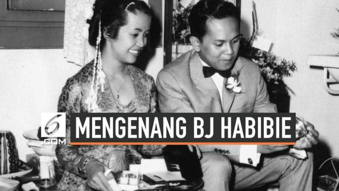 VIDEO: Momen Bahagia Pernikahan BJ Habibie dan Ainun