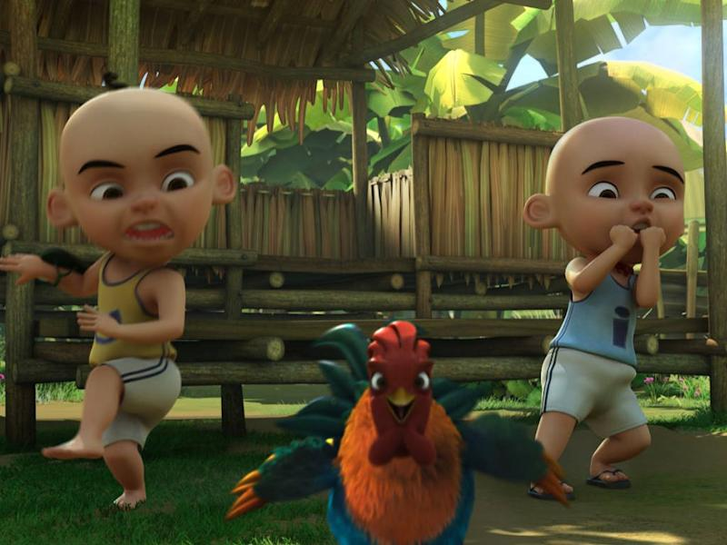 "The titular twins are conquering the world with their movie, ""Upin & Ipin: Keris Siamang Tunggal""."