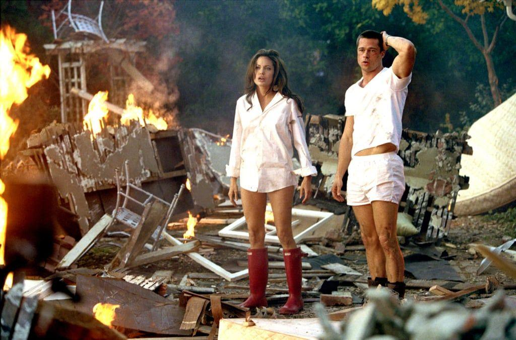 "<p>I mean, it's Brad Pitt and Angelina Jolie waffling back and forth between shooting people, blowing stuff up, and having sex. Add in the bonus that the wardrobe ranges from underwear to formal wear, and what this action movie becomes is one of the sexiest features of our whole damn generation.</p><p><a class=""body-btn-link"" href=""https://www.amazon.com/gp/video/detail/amzn1.dv.gti.62a9f7bf-afbc-a589-0a7b-fee5fefe2ca2?autoplay=1&ref_=atv_cf_strg_wb&tag=syn-yahoo-20&ascsubtag=%5Bartid%7C10054.g.3524%5Bsrc%7Cyahoo-us"" target=""_blank"">Amazon</a> <a class=""body-btn-link"" href=""https://go.redirectingat.com?id=74968X1596630&url=https%3A%2F%2Fitunes.apple.com%2Fus%2Fmovie%2Fmr-mrs-smith-unrated%2Fid289556871%3Fat%3D1001l6hu%26ct%3Dgca_organic_movie-title_289556871&sref=https%3A%2F%2Fwww.esquire.com%2Fentertainment%2Fmovies%2Fg3524%2Fsexiest-movies-of-all-time%2F"" target=""_blank"">iTunes</a></p>"