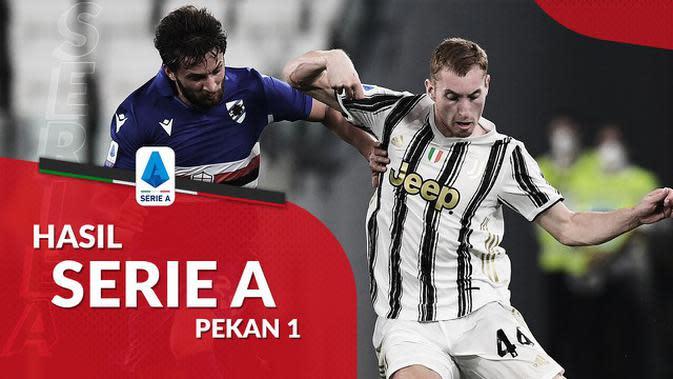MOTION GRAFIS: Hasil Liga Italia Pekan 2, Juventus dan AC Milan Raih Kemenangan pada Laga Perdana