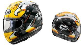 Arai推出「RX-7X」Kenny Roberts復刻彩繪帽款