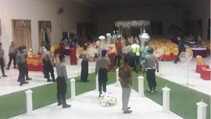 Demi Cegah Penularan Covid-19, Polisi Bubarkan Pesta Perkawinan di Gorontalo Utara