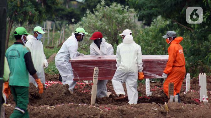 Satgas Tegaskan Belum Ada Rencana Ubah Definisi Kematian Pasien Covid-19