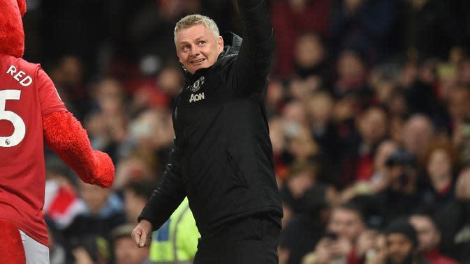 Manajer Manchester United, Ole Gunnar Solskjaer. (AFP/Oli Scarff)