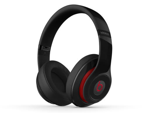This photo provided by Beats by Dr. Dre shows Beats Studio Wireless plush set of over-ear headphones that almost exactly mirror Beats' popular Studio line, updated this summer, but comes with wireless ability. It's an outstanding way to bliss out during a noisy commute or wander around your home with music in your head. (AP Photo/Beats by Dr. Dre)