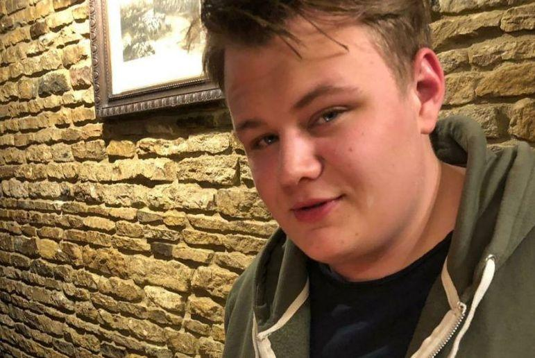 Harry Dunn was killed outside RAF Croughton in Northamptonshire last year. (PA)