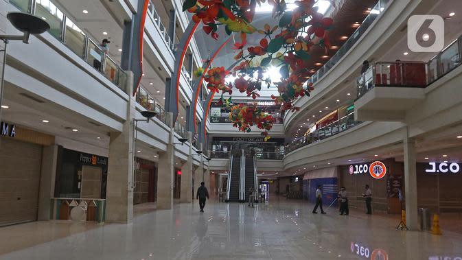 Suasana Mall Margo City, Depok, Jawa Barat, Selasa (9/6/2020). Pusat perbelanjaan atau mal di Kota Depok akan mulai dibuka pada 16 Juni 2020 dengan menerapkan sejumlah aturan protokol kesehatan yang ketat. (Liputan6.com/Herman Zakharia)