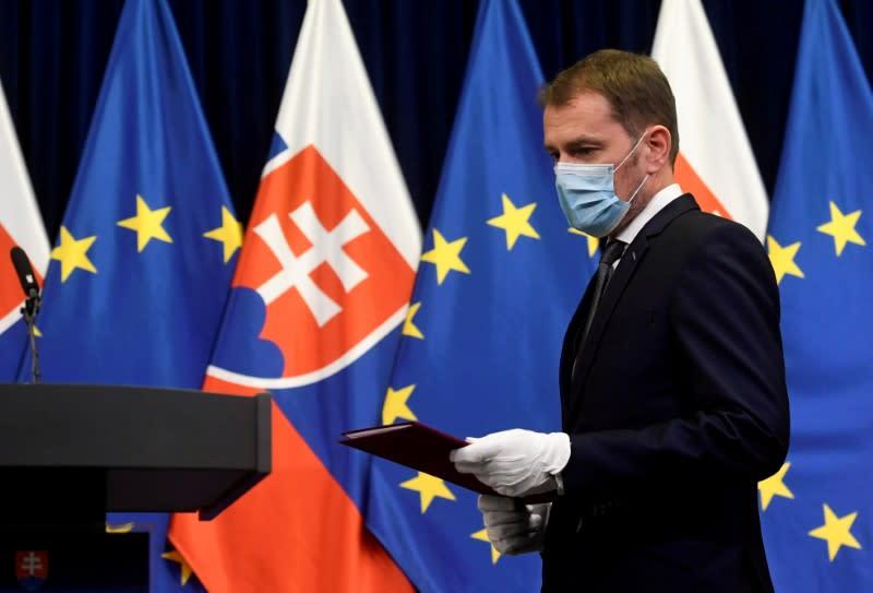 Slovakia's new government to sharply ramp up coronavirus testing