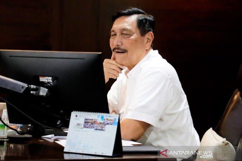Luhut ungkap upaya tangani COVID-19 di delapan provinsi
