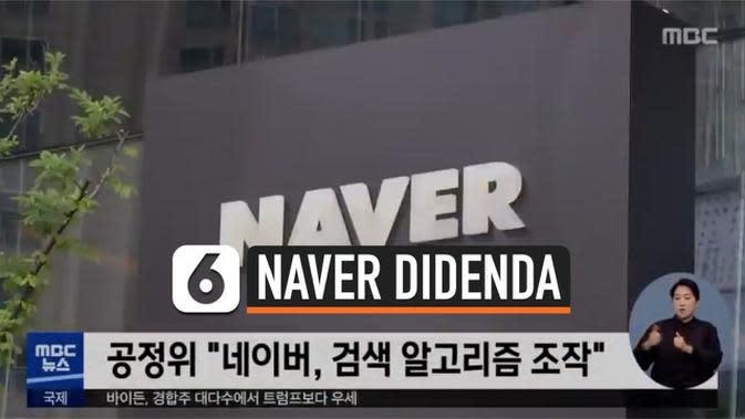VIDEO: Naver Corp Hadapi Denda 22,9 Juta Dolar Amerika karena Manipulasi Algoritma Pencarian