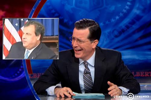 Stephen Colbert Sums Up Chris Christie's Strategy: 'It's My Way, or I Shut Down Your Highway' (Video)