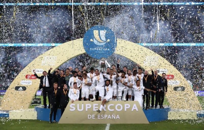 Spanish Super Cup Final - Real Madrid v Atletico Madrid