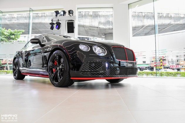 夠黑、才稱得上耀眼,Bentley Continental GT Speed Black Edition特仕版