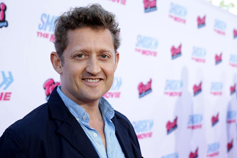 "Director Alex Winter seen at the Los Angeles Premiere of AwesomenessTV and Defy Media's ""SMOSH: THE MOVIE"" held at Westwood Village Theatre on Wednesday, July 22, 2015, in Los Angeles. (Photo by Eric Charbonneau/Invision for AwesomenessTV/AP Images)"