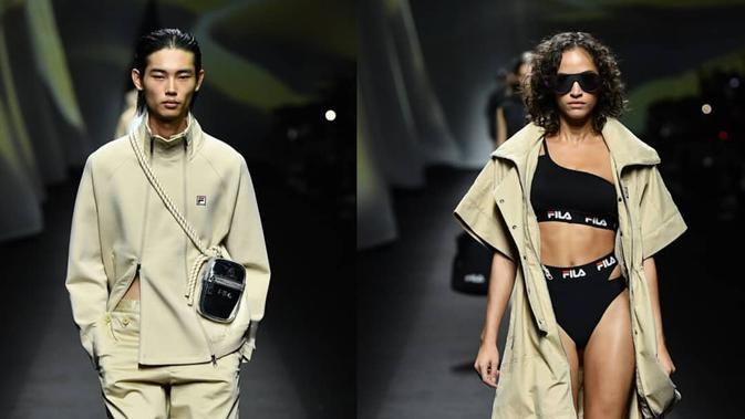 Tren Fashion 2020 Trench Coat (Instagram @FILAIndonesia)