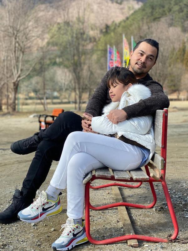Potret Kebersamaan Sultan Djorghi dengan Putrinya Aquena. (Sumber: Instagram.com/djorghisultan)