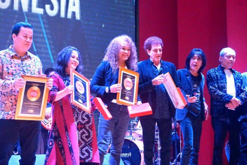 Didi Kempot hingga God Bless terima penghargaan di Hari Musik Nasional