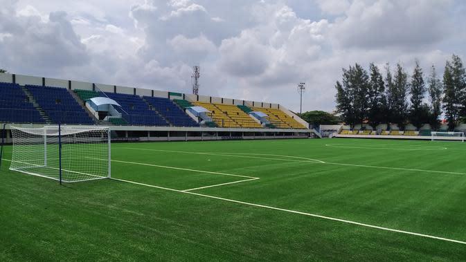 Stadion Citarum yang akan menjadi markas PSIS Semarang di lanjutan Liga 1 2020. (Bola.com/Vincentius Atmaja)