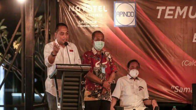 Eri Cahyadi Ingin Surabaya Jadi Kota Bisnis Kelas Dunia