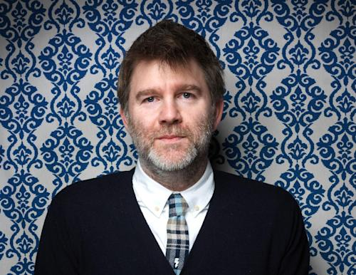 "FILE - This Jan. 23, 2012 file photo shows James Murphy from the film ""Shut Up And Play The Hits,"" posing for a portrait during the 2012 Sundance Film Festival on Monday, Jan. 23, 2012 in Park City, Utah. ""Shut Up and Play the Hits,"" is a soon-to-be-released concert documentary about LCD Soundsystem's last show. (AP Photo/Victoria Will, file)"