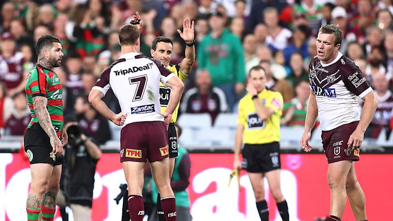 Jake Trbojevic's sin bin changed the course of the semi-final against the Rabbitohs.