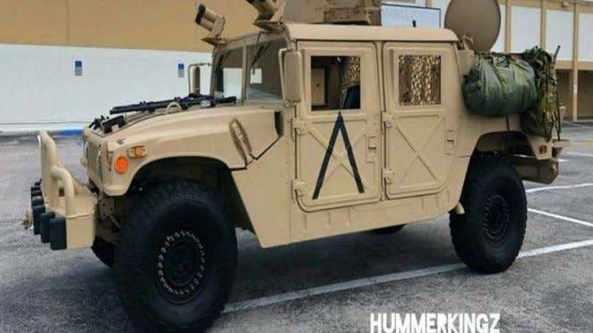 Kendaraan Bekas Militer AS Dijual Online, Harganya Rp700 Jutaan