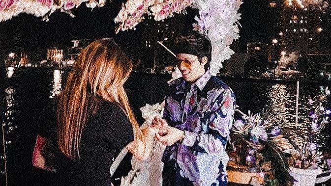 Aurel Hermansyah dan Atta Halilintar (Instagram/attahalilintar)