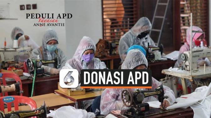 VIDEO: Anne Avantie Produksi APD untuk Tenaga Medis Gratis