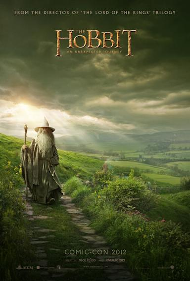 The hobbit Comic Con Reveal