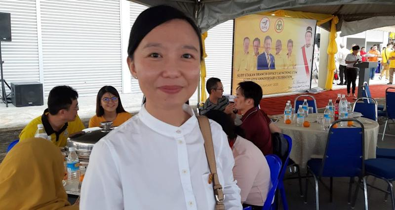 SUPP Women chief Kho Teck Wan says the federal government needs to increase the allocation to finance SMEs' digital transformation. — Picture by Sulok Tawie