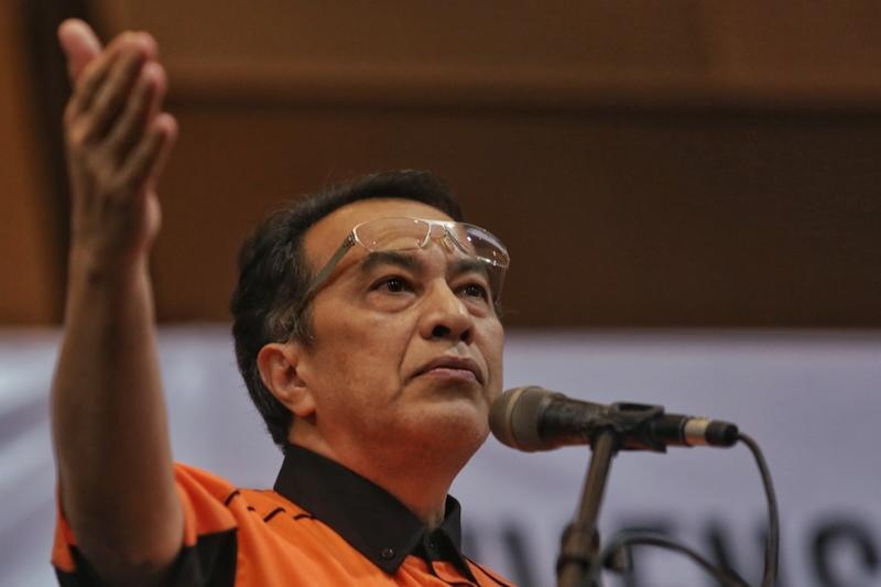 Husam stepped down from his post of party vice-president on September 6. — Picture by Saw Siow Feng