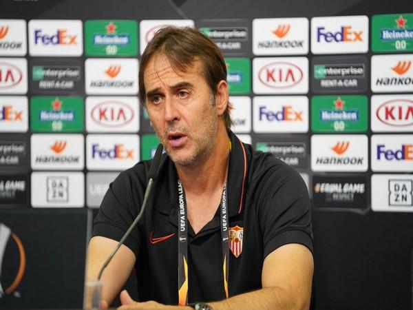 Sevilla manager Julen Lopetegui. (Photo/ Sevilla Twitter)