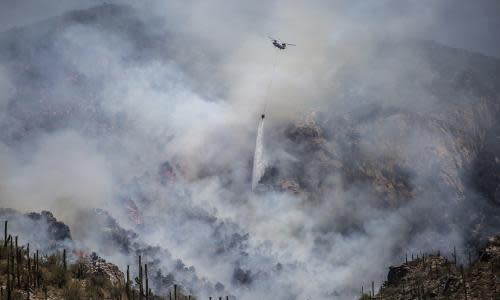 Twin threats in Arizona as wildfires spread during pandemic